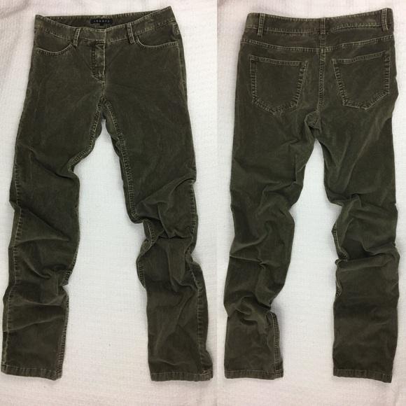 4f59c5c87de Theory Pants | Corduroy Straight Leg Stretch | Poshmark